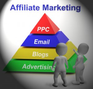 pyramid of affiliate marketing