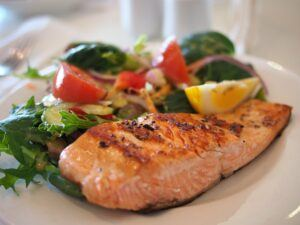 salamon dinner