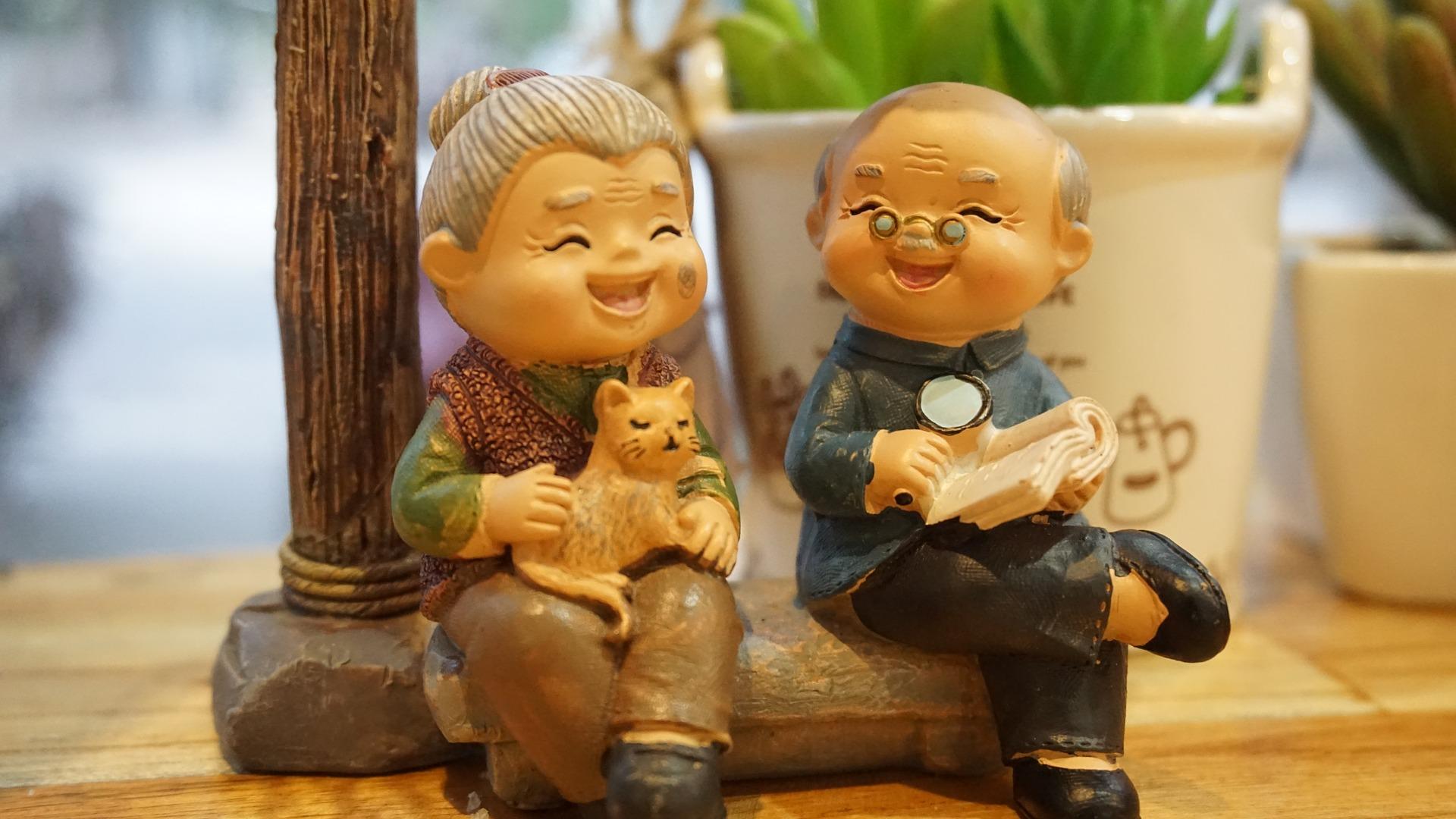 grandparents retired