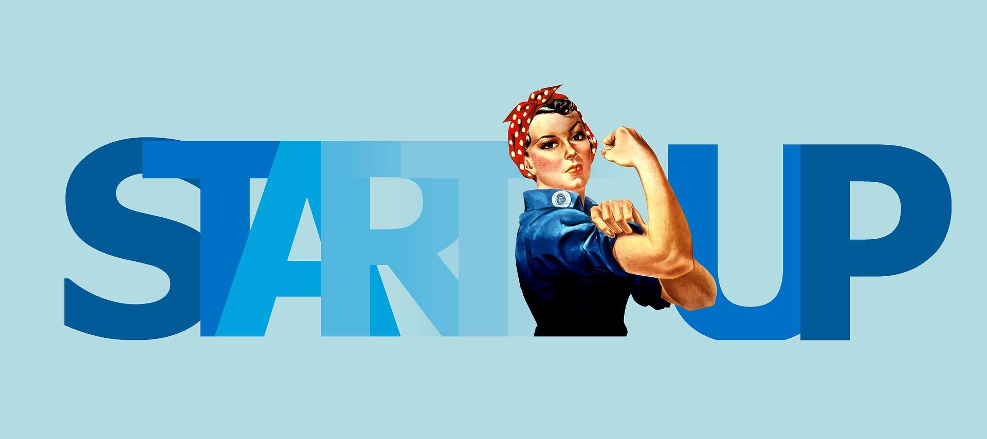 startup woman