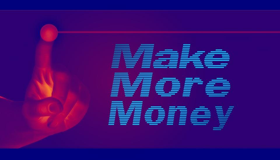 Make more money sign