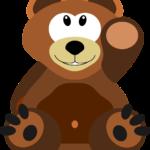 cartoon teddybear